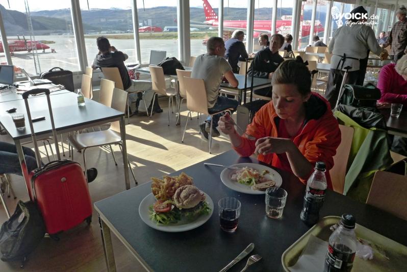 10063 Flughafen-Restaurant Kangerlussuaq