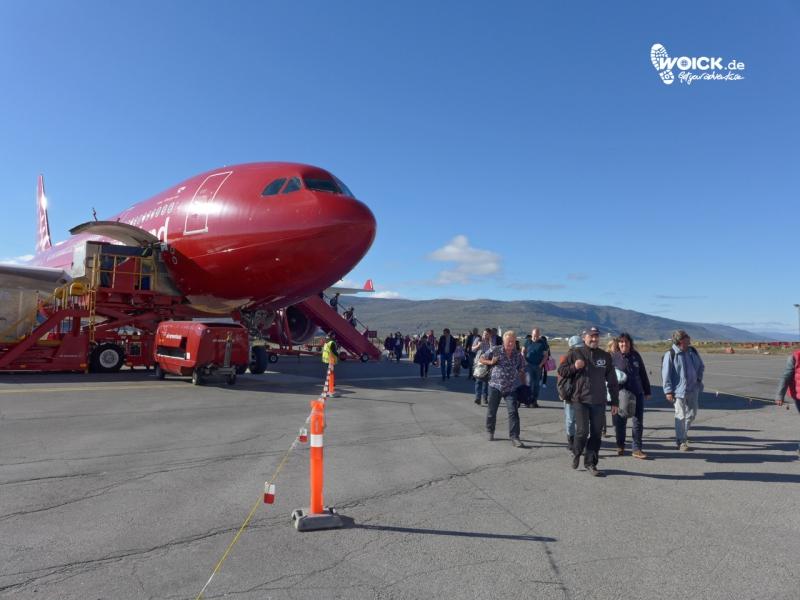 00473 Kangerlussuaq Flughafenankunft