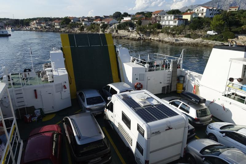 Camping an Bord - Ancona - Durres