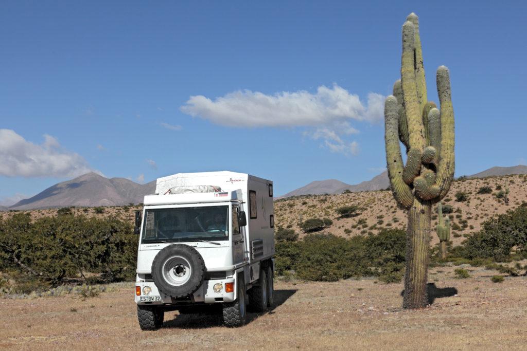 Bucher Duro 6x6 Reisemobil bei Tilarca