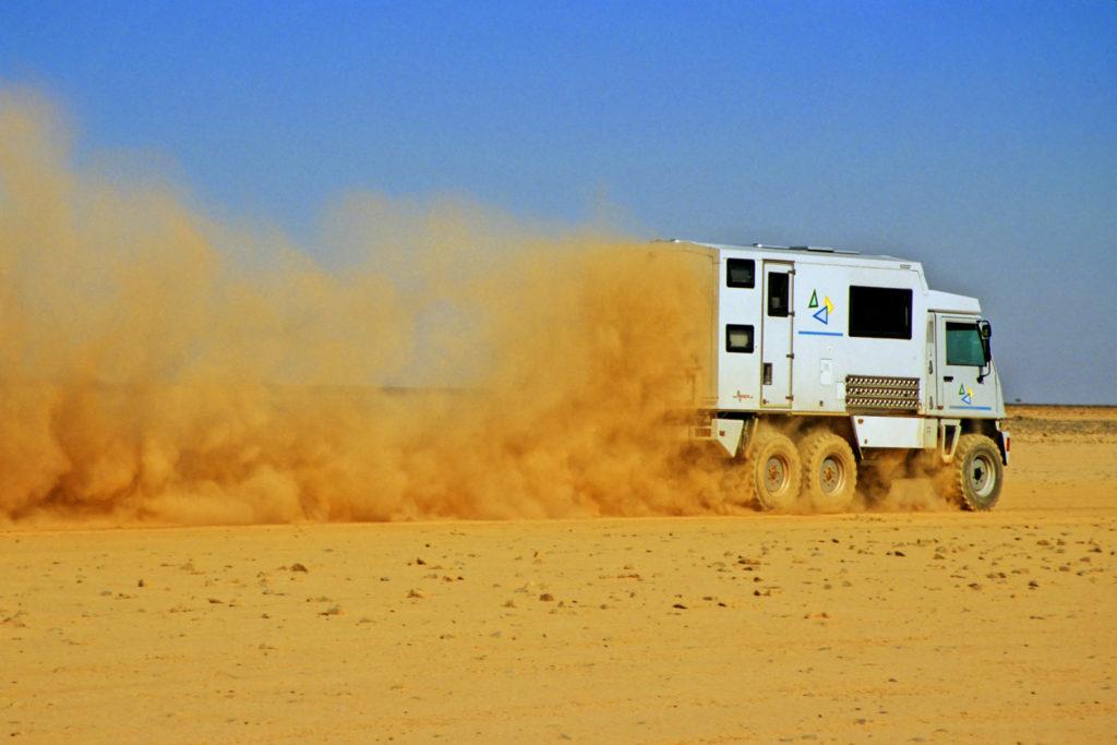 Bucher Duro 6x6 Reisemobil Fesch-Fesch bei Palmira Syrien