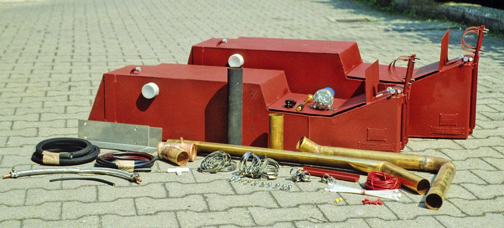 Zusatztank Mercedes G 463 70 und 95 Liter
