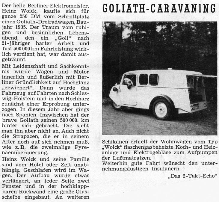 Goliath 2-Takt Echo 6/1956