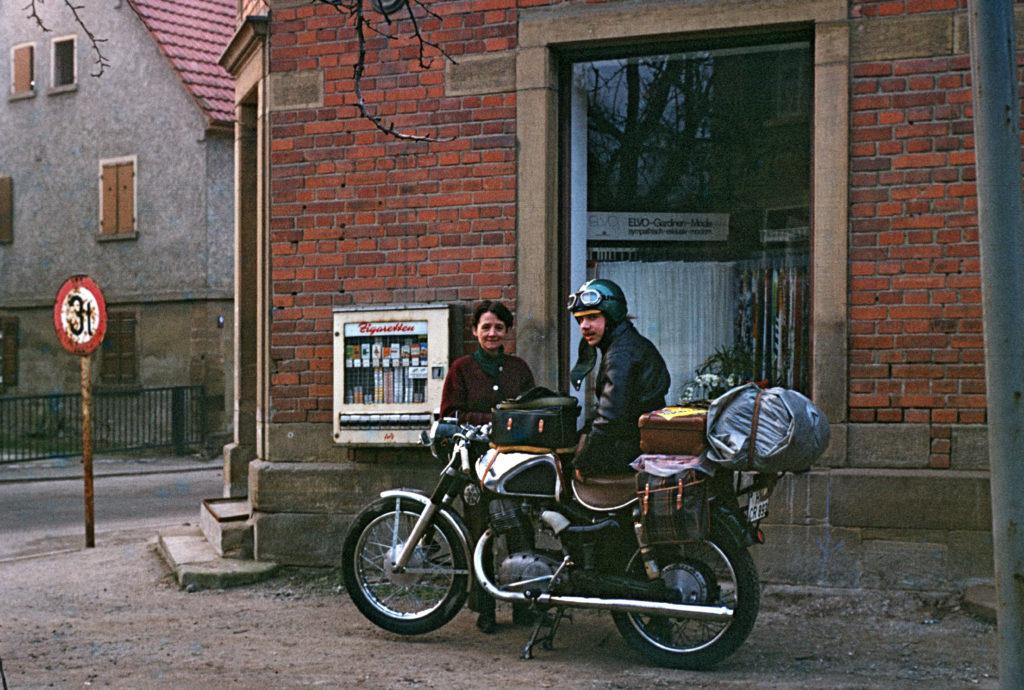 NSU-Max-mit-Horex-Tele-_-Inge-Woick-Schwaigern-1971